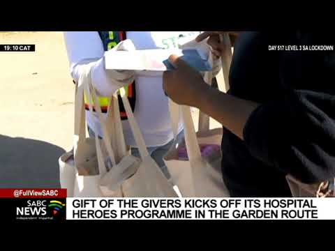 Women's Month   Gift of the Givers kicks off its Hospital Heroes Programme in Western Cape