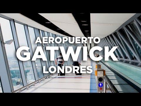 Cómo ir del aeropuerto de Gatwick al centro de Londres.