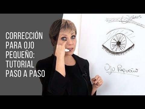 MAQUILLAJE Y CORRECCIÓN DE OJO PEQUEÑO: TUTORIAL PASO A PASO | TUMAKEUP