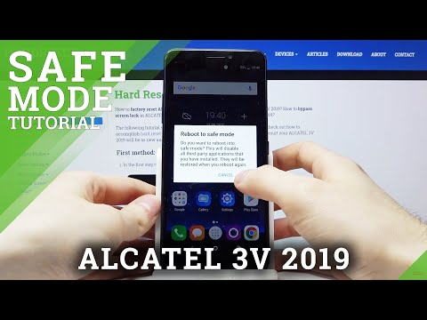 How to Enter Safe Mode in ALCATEL 3V 2019 – Turn On Device Without Third-party Apps