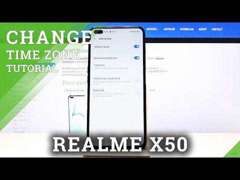 How to Change Date and Time in REALME X50 5G – Time Settings