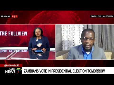 Previewing Zambia's presidential elections with Arthur Davies Sikopo