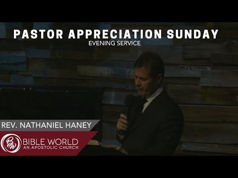 Pastor Appreciation Sunday | Rev. Nathaniel Haney