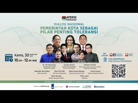 Dialog Nasional Pemerintah Kota Sebagai Pilar Penting Toleransi