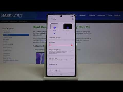 How to Set Screen Timeout in SAMSUNG Galaxy Note 20 – Set Blackout Time
