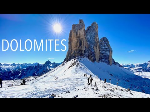 Most beautiful places to visit in the Dolomites (4K UHD)