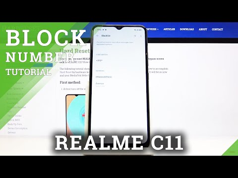How to Block Calls and Texts in REALME C11 - Block Number