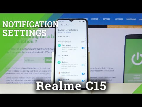 How to Turn Off Notifications in REALME C15 – Enable Notifications
