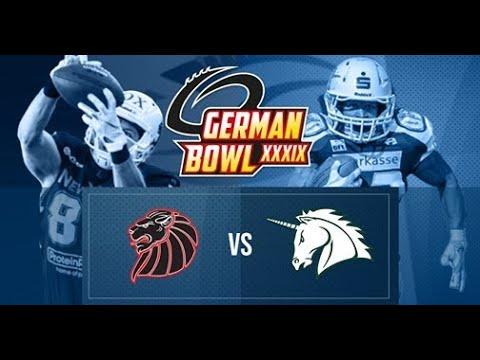 German Bowl History - 2017