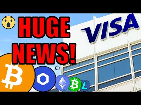 Cryptocurrency is SURGING Today As VISA Goes 100% ALL IN! This Is The Beginning Of Something BIG!