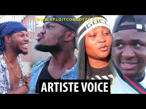 If Artiste voices are being sold in the market 😂😂 (xploit comedy)