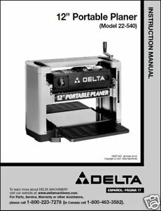 Delta Planer Blades 22 540