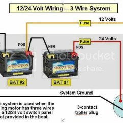 24 Volt Trolling Motor Battery Wiring Diagram Kenworth T800 How To Wire A 44 12 24vwiring Rear Vantage 36 Or Outdoor Gear Forum