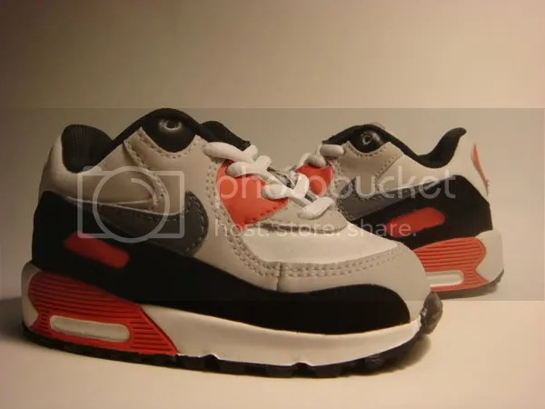 Custom Baby Air Max 90 Infareds and Laser Blues