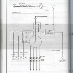 2006 Honda Civic Ignition Wiring Diagram 2005 Jeep Liberty Switch For A 91 Si Mpfi Distributor