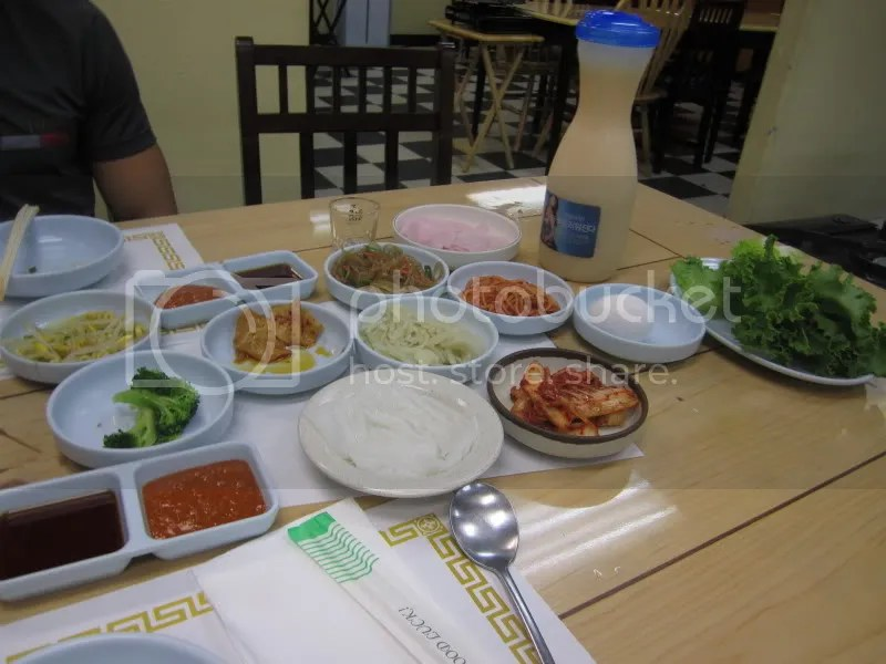 Originally We Wanted To Order The Seafood Pajeon As Our Appetizer Bulgogi And Kalbi As Our Meats And Combination Tofu Soup When We Ordered Though