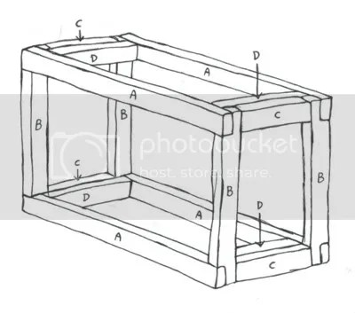 Fish Tank Stand Diy Plans, How To Build A Picnic Table