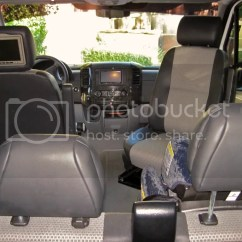 Swivel Chair Mercedes Sprinter Folding Measurements Seat Adapters You Get What Pay For Page 7