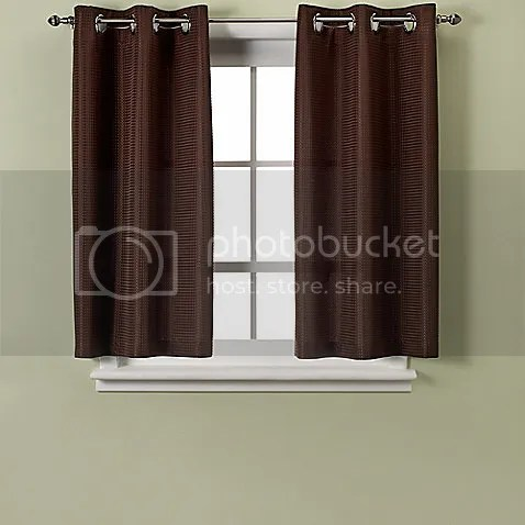 Bathroom Window Curtains Stop At The Sill Or Hang Below The Sil