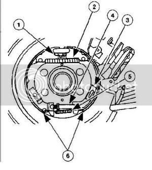 Adjust parking brake on 2001 sport | Ford Explorer and