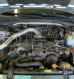 it s way easier if you remove the hood just remove the 4 bolts holding it in helps to have someone else to hold the hood while you do it [ 1024 x 768 Pixel ]