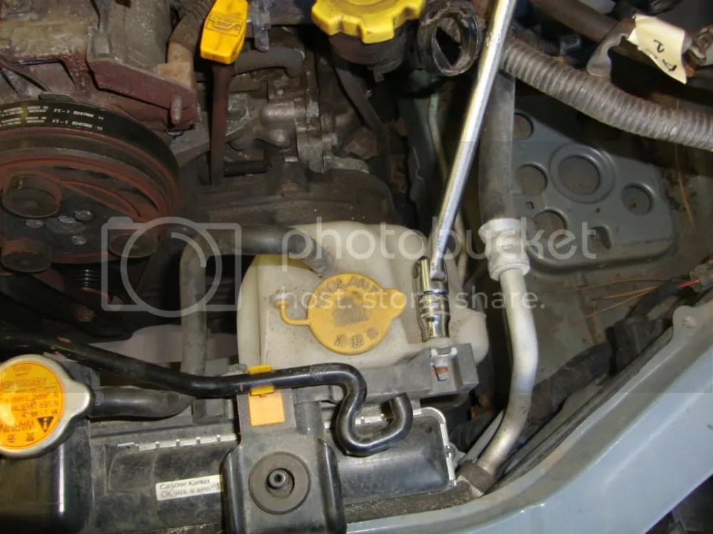 medium resolution of remove the upper and lower radiator hoses expect coolant to still be present and make a mess