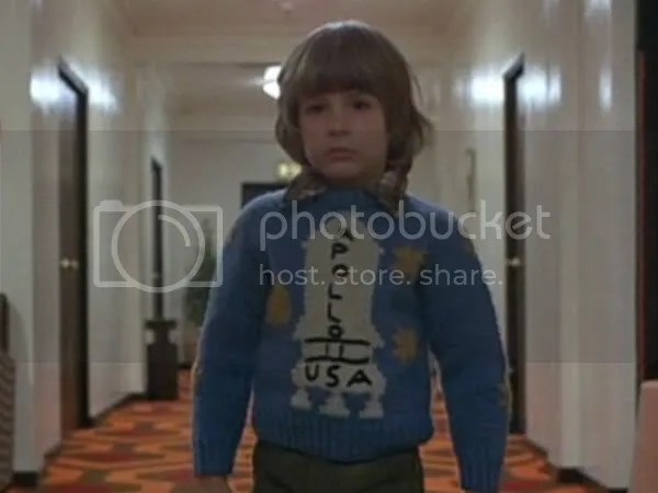 Fotogramma 'Apollo' dal film The Shining - Stanley Kubrick