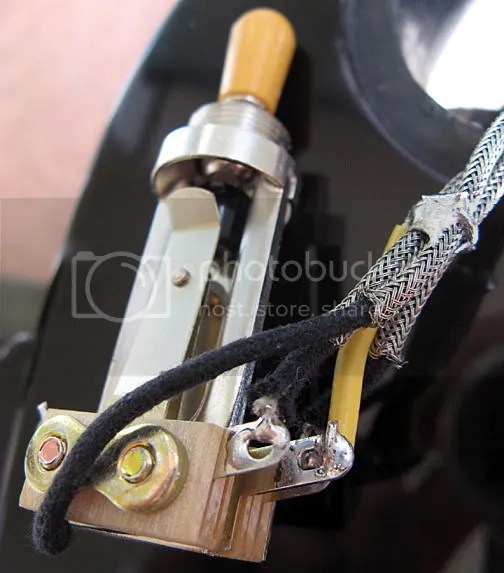Les Paul Switch Wiring