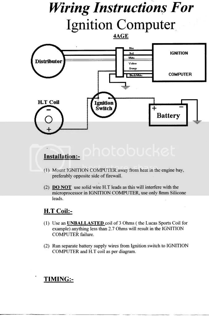 ae86 wiring diagram 2001 ford f150 lariat radio carb'd 4age on hyperpak ignition no spark problem