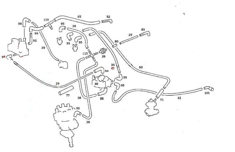 European W126/US Federalized Vacuum Line Diagram Request