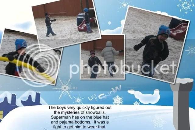 Scrapblog,Scrapbook,Snowy Christmas