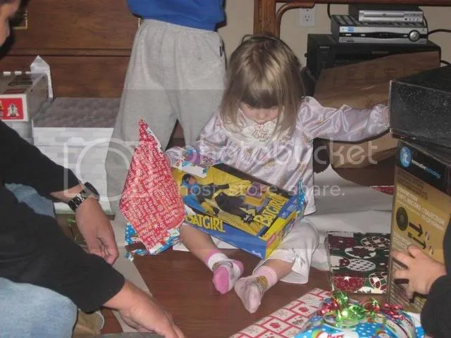 Christmas,opening presents
