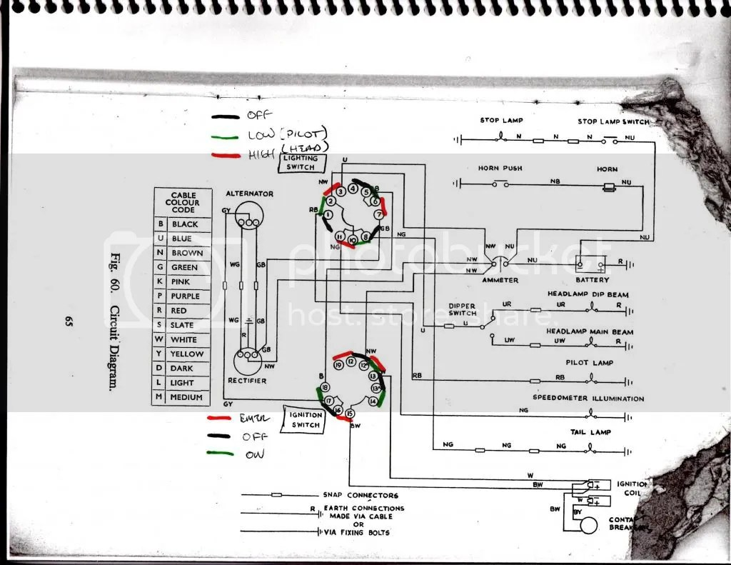 garmin wiring diagram daisy air rifle parts 1964 bsa a65 lightning rocket - britbike forum