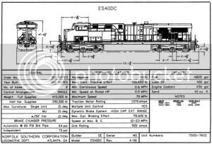 Prototype Dimensions  GE Diesels?  Weathering, Detailing