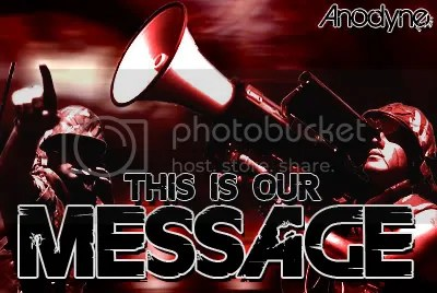 This is our message