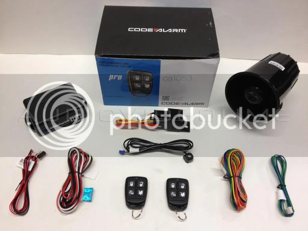 code alarm ca 2051 wiring diagram briggs amp stratton engine new ca1053 car vehicle security 43 keyless entry