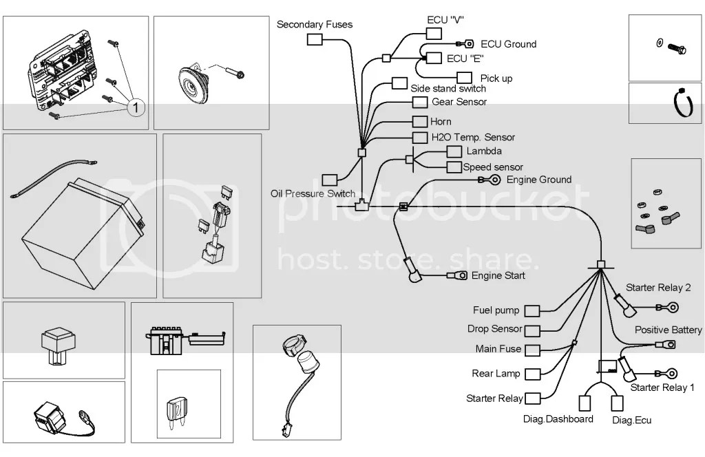 electrical diagram for Shiver