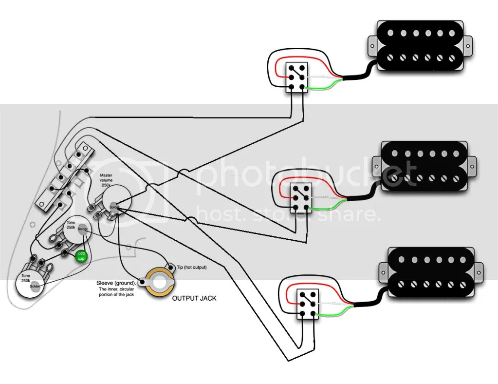Dual Humbucker Wiring Diagram For Standard