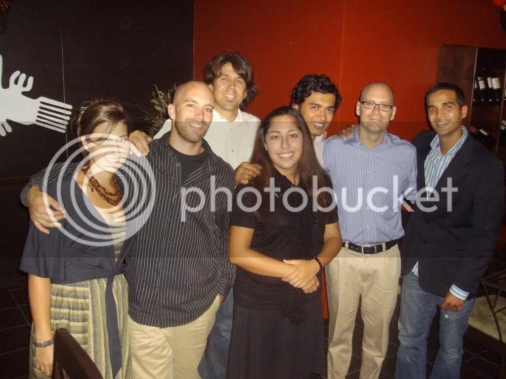 Scott and his staff team