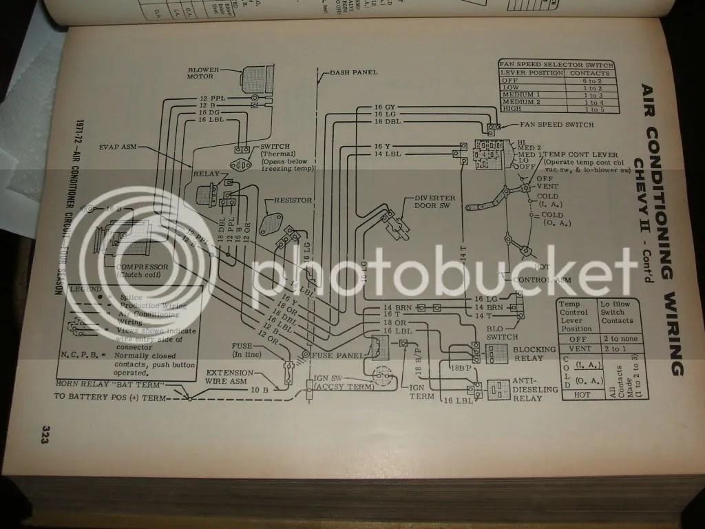 hight resolution of 1974 nova air conditioning wiring diagram