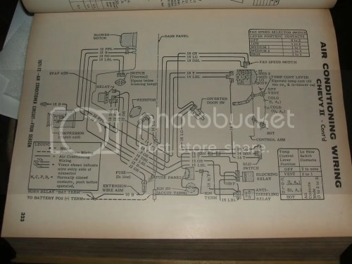 small resolution of 1974 nova air conditioning wiring diagram