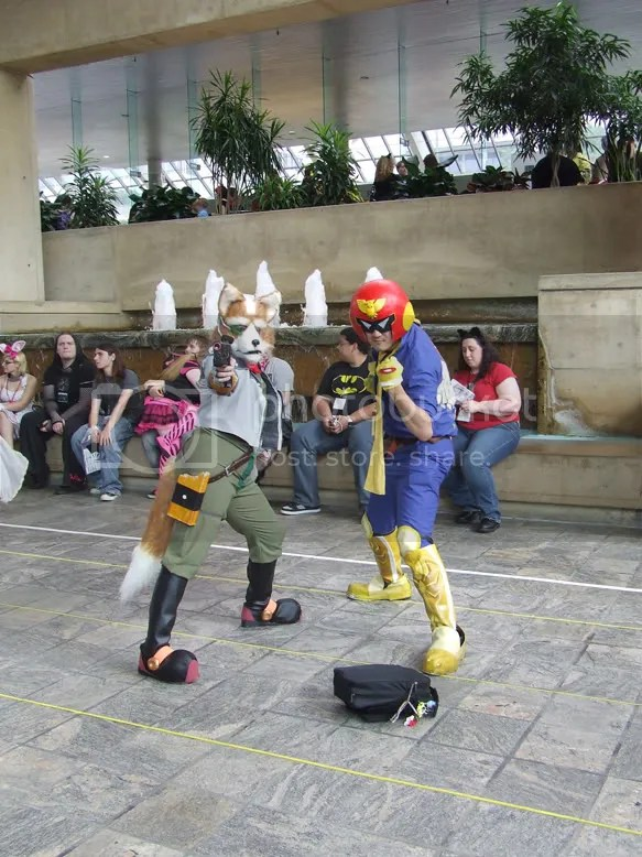 otakon, cosplay, star fox, captain falcon, smash brothers