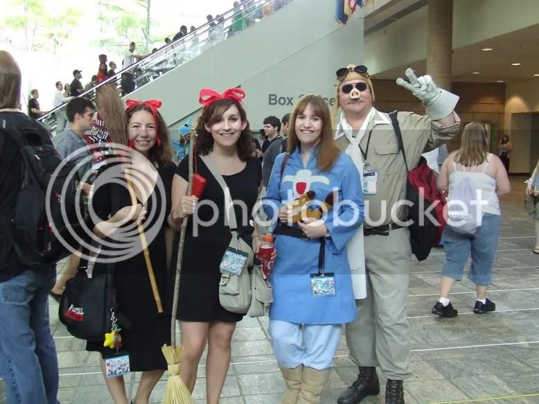 otakon, cosplay, ghibli, kiki's delievery service, nausicca, porco rosso