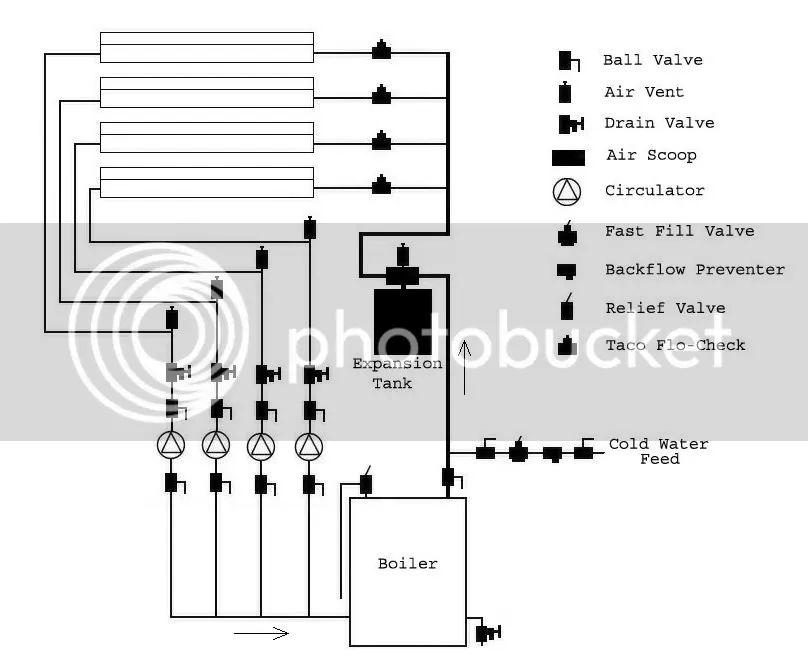 crown steam boiler piping diagram