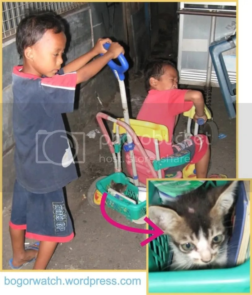 Anak Kecil di Pasar De Vries Bogor