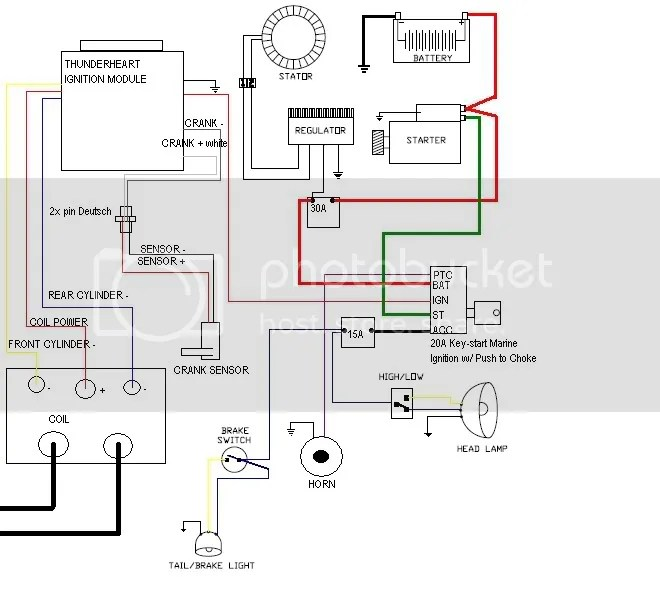 Marine Coil Wiring Diagram | mwb-online.co on