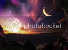 Moon Sunset Background Photo by AngelzinHellnHeaven ...