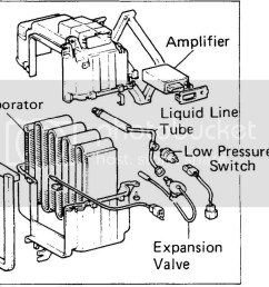 there s a low pressure switch that won t allow the compressor to turn on if there is low freon in the system to protect the compressor from damage  [ 1024 x 816 Pixel ]