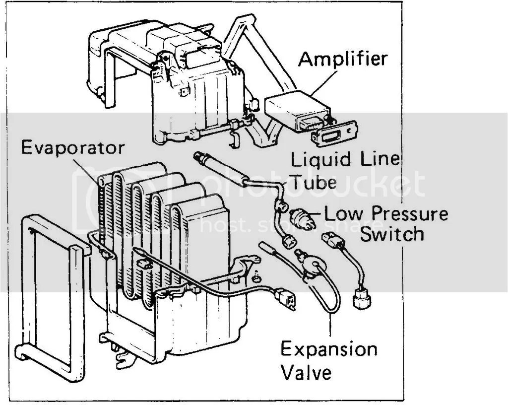 hight resolution of there s a low pressure switch that won t allow the compressor to turn on if there is low freon in the system to protect the compressor from damage