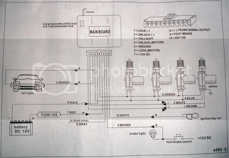Wiring Diagram For Keypad